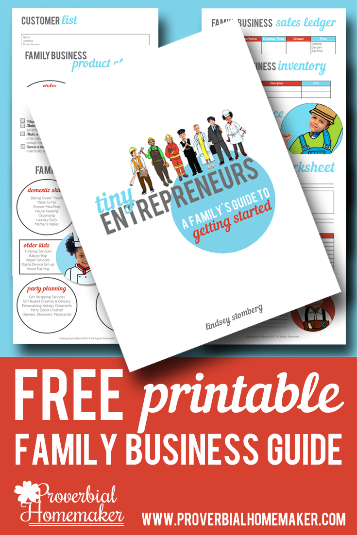 Teach life skills and build confidence by teaching your kids entrepreneurship and how to run a family business! Check out our great tips and download the FREE guide!