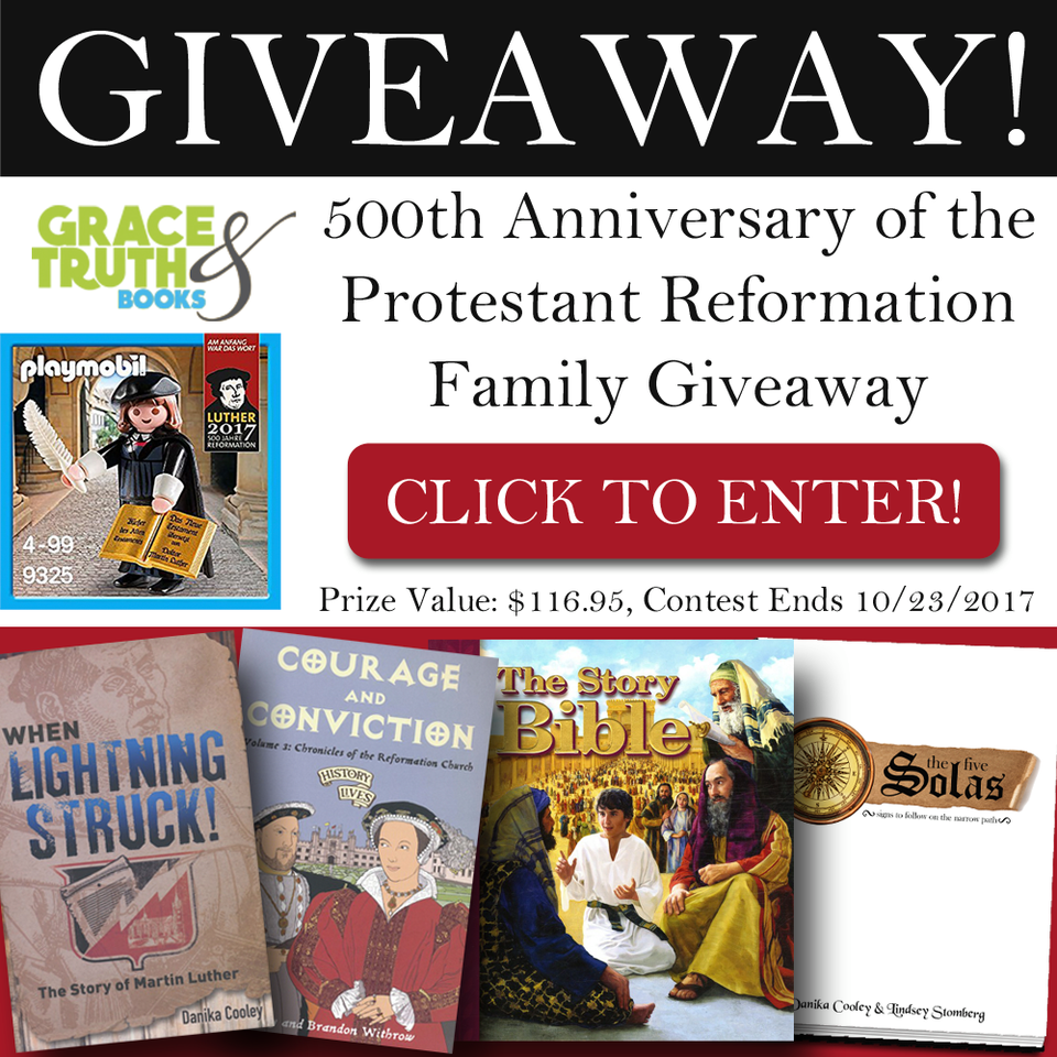 Reformation Day Giveaway