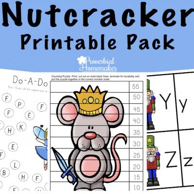 Nutcracker Printable Pack