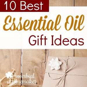 Looking for essential oil gift ideas? Here are several DIY and store-bought ideas that will make it easy and fun!