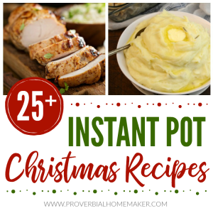 Check out these fantastic Instant Pot Christmas recipes to save time as you entertain during the holidays!