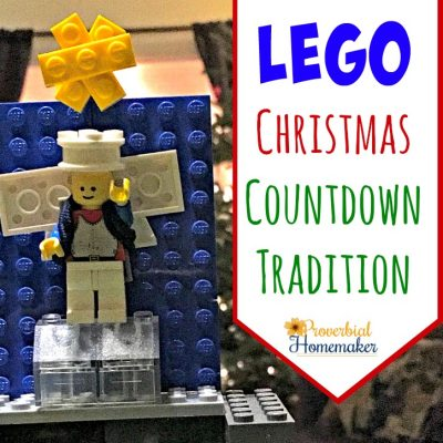 Try these fun idea for a Lego Christmas countdown!