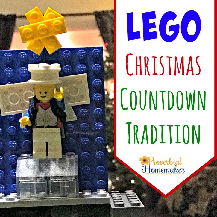 Our Lego Christmas Countdown Tradition