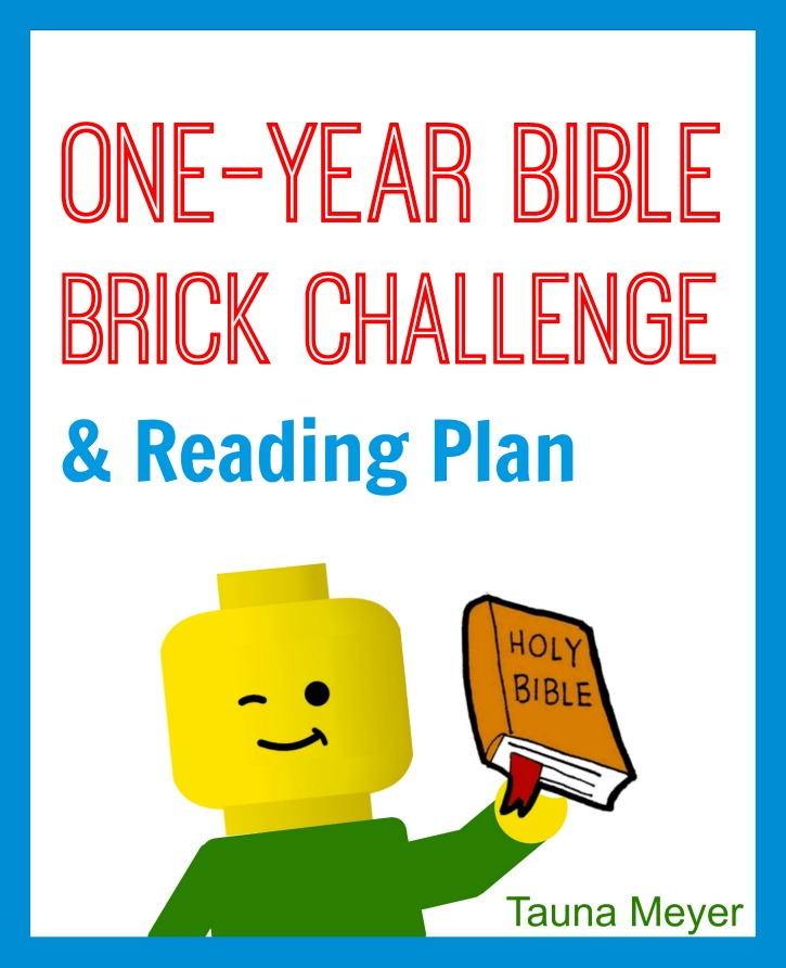 One Year Bible Brick Challenge & Reading Plan - Proverbial ...