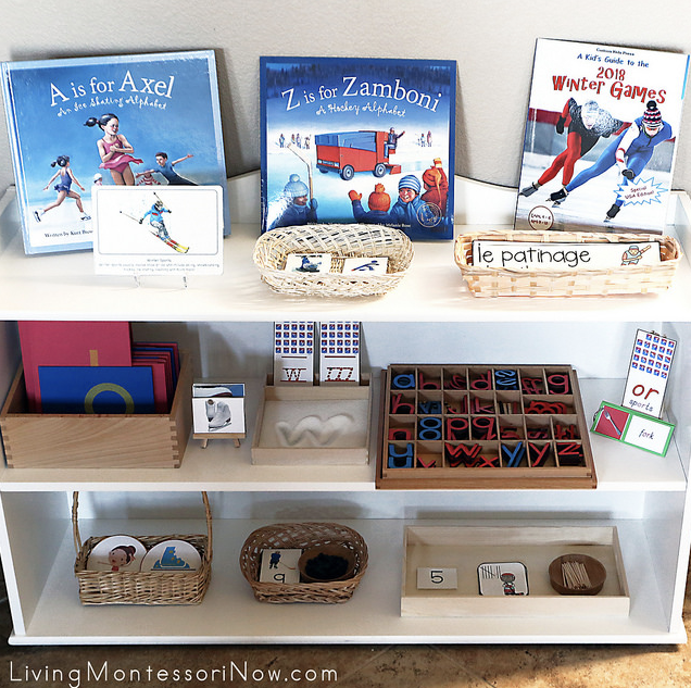 Montessori Winter Games Activities