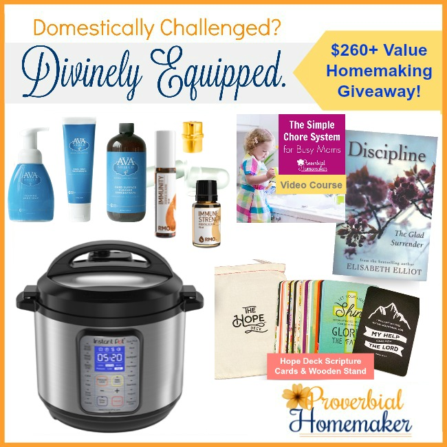 Homemaking giveaway!