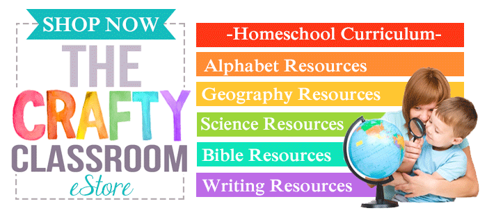 The Crafty Classroom is a high quality educational resource site for pre-k through 3rd grade!