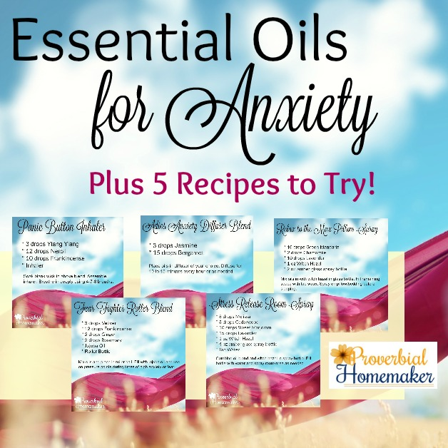 14 Best Essential Oils for Anxiety (+ 5 Recipes)