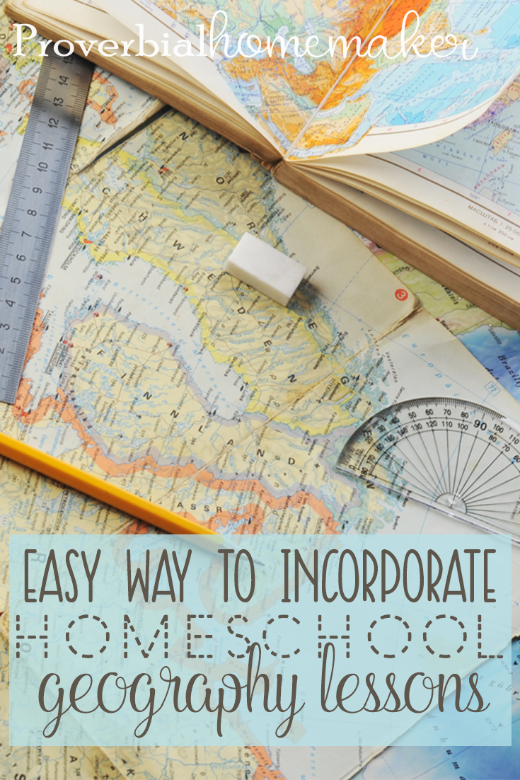 If you are looking for ways to add homeschool geography lessons during your day then here are 7 tips to get you started that you will love.