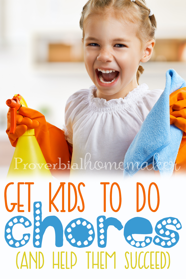 Have you been wondering how to get kids to do chores?. Here are some tips to help you not only get them to do chore but to also help them succeed.