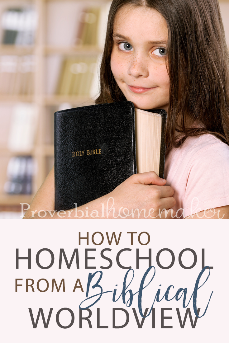 Wondering how to homeschool from a biblical worldview? Come find out what it is, why it's critical, and important things you need to know.