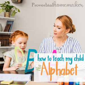How to teach my child the alphabet seems to be a common question. Here are some tips on how to teach the alphabet to your little one and have fun in the process!