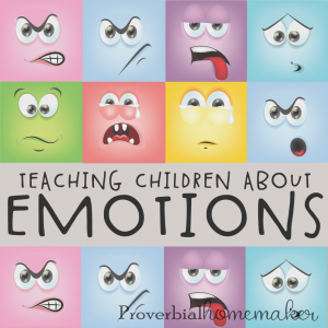 Teaching children about emotions can be tricky. Here are 4 steps to make the process a little bit easier.