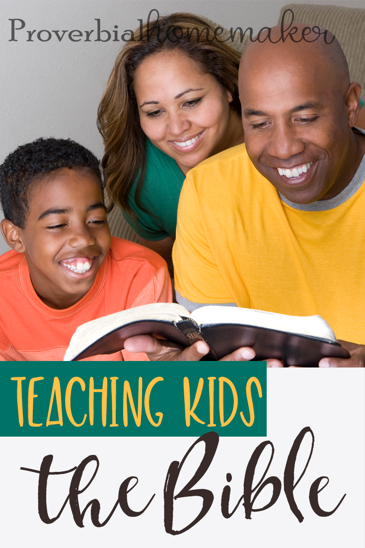 Teaching kids the Bible is made a little bit easier with these 7 tips in mind!