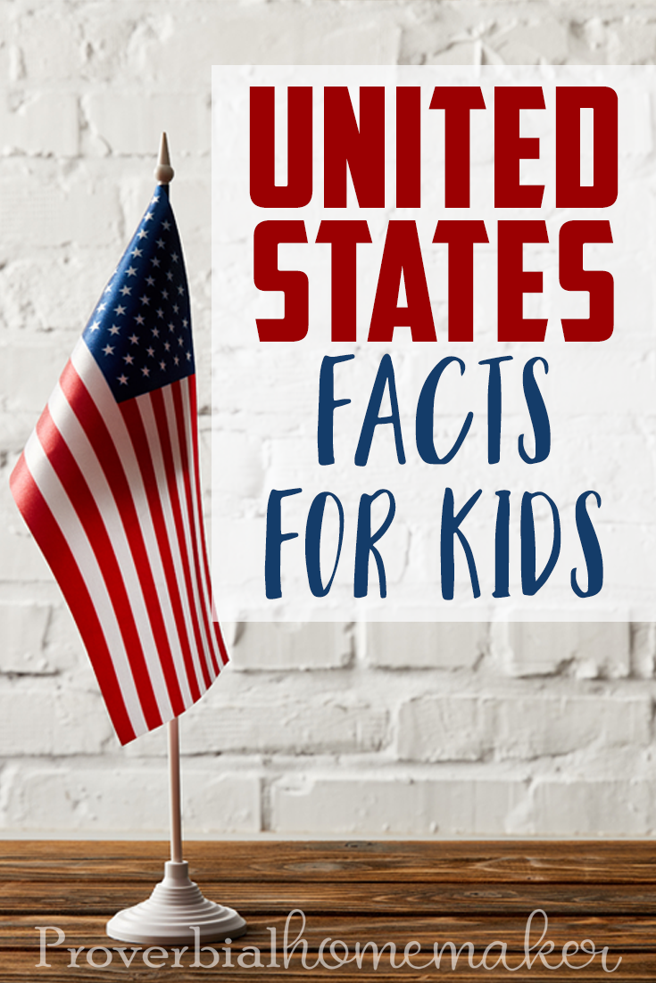 If you are looking for ways to teach United States facts in your homeschool look no further. Here are 5 Ways to Teach United States Facts for Kids!