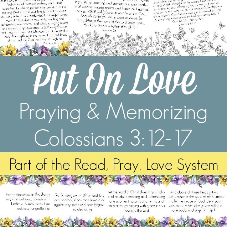 November RPL Put on Love Colossians 3 SQ