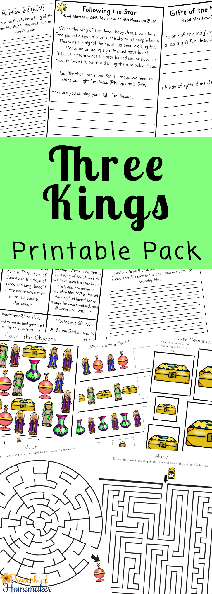 image relating to Printable Bible Study named 3 Kings Printable Pack Bible Research - Proverbial Homemaker