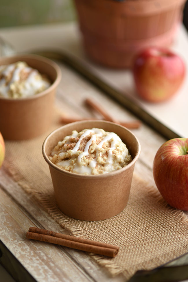 Healthy Cinnamon Apple Minute Muffins - Healthy Snacks for Kids
