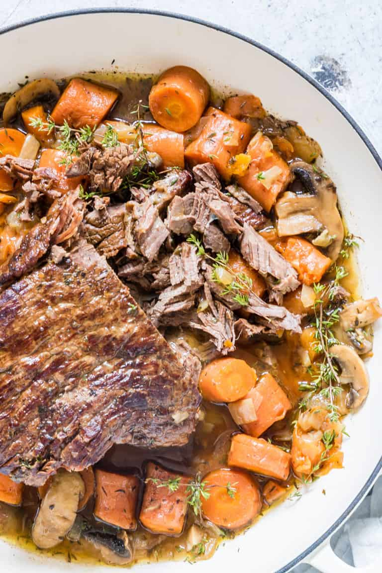 Instant Pot Pot Roast - Whole 30 Instant Pot recipes