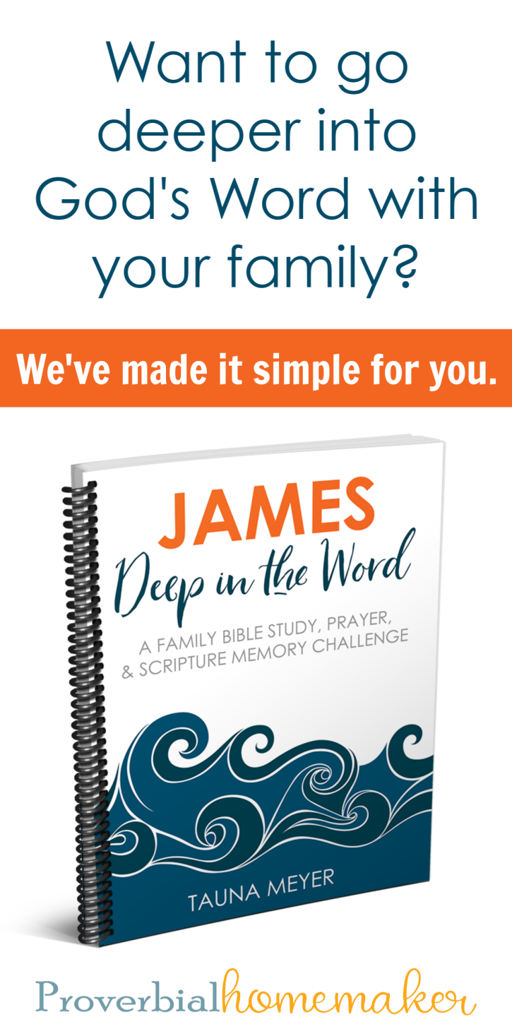 Read, Pray, and Memorize James with Your Family