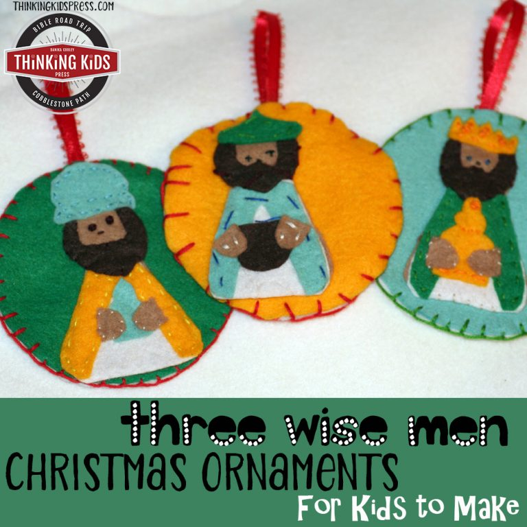 Three Wise Men Christmas Ornaments Kids Can Make