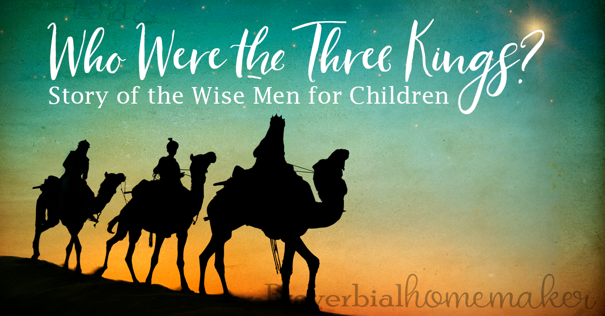 There are some myths and traditions when it comes to the three wise men in the nativity story that are worth chatting about with our kids. Who were the three kings in the biblical account of Jesus' birth? The story of the wise men for children should remind them of God's goodness and HIs plan for redemption. Who were the wise men? Learn more here! #Christmas #familydiscipleship #biblelessons