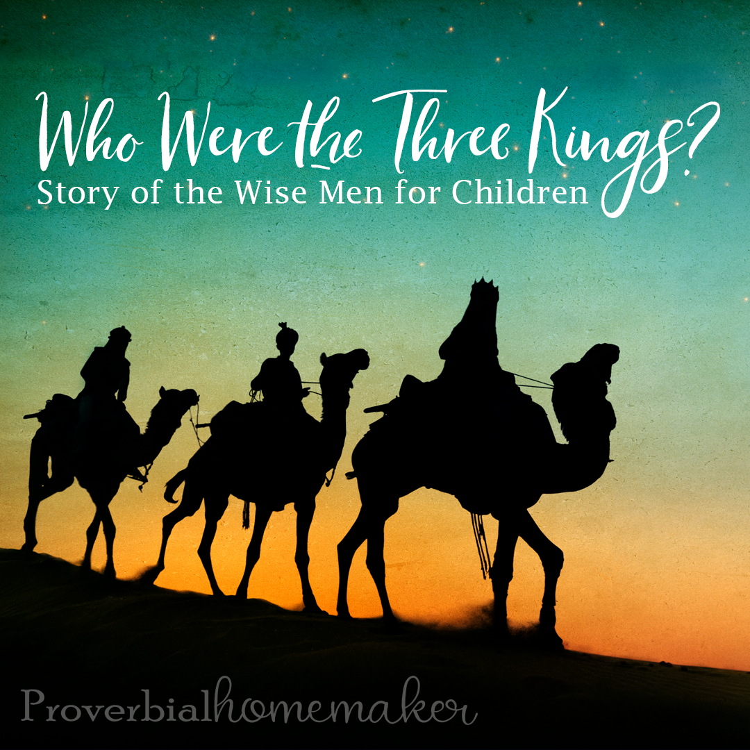There are some myths and traditions when it comes to the three wise men in the nativity story that are worth chatting about with our kids. Who were the three kings in the biblical account of Jesus' birth? The story of the wise men for children should remind them of God's goodness and HIs plan for redemption. Who were the wise men? Learn more here!