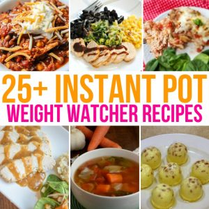 Looking for Instant Pot Weight Watchers Recipes? You'll love these!