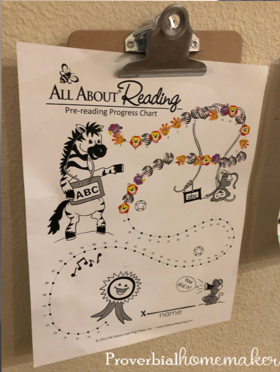 Curious about the All About Reading Pre-Reading curriculum? Find out how this mama of many used it with two kids at the same time.