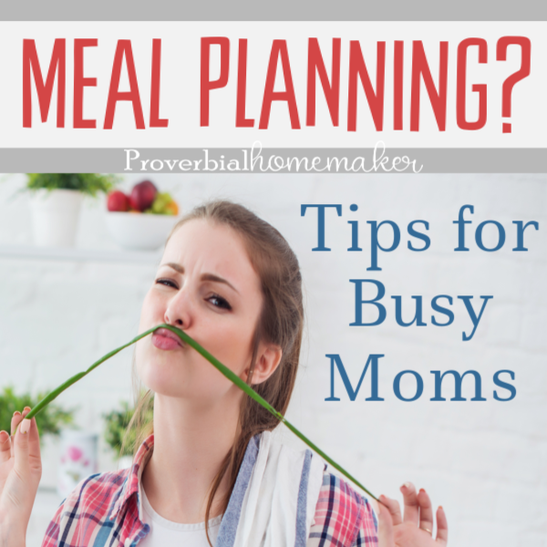 The best meal planning tips for busy moms with a free weekly menu planner! You'll love this flexible meal planning template!
