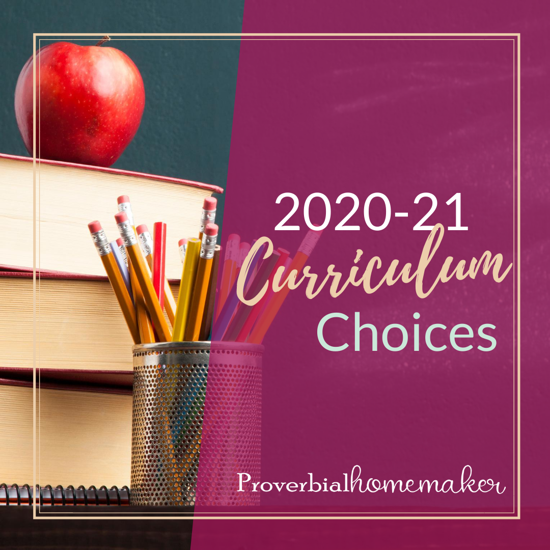 Check out our favorite homeschool curriculum choices for multiple grade levels!