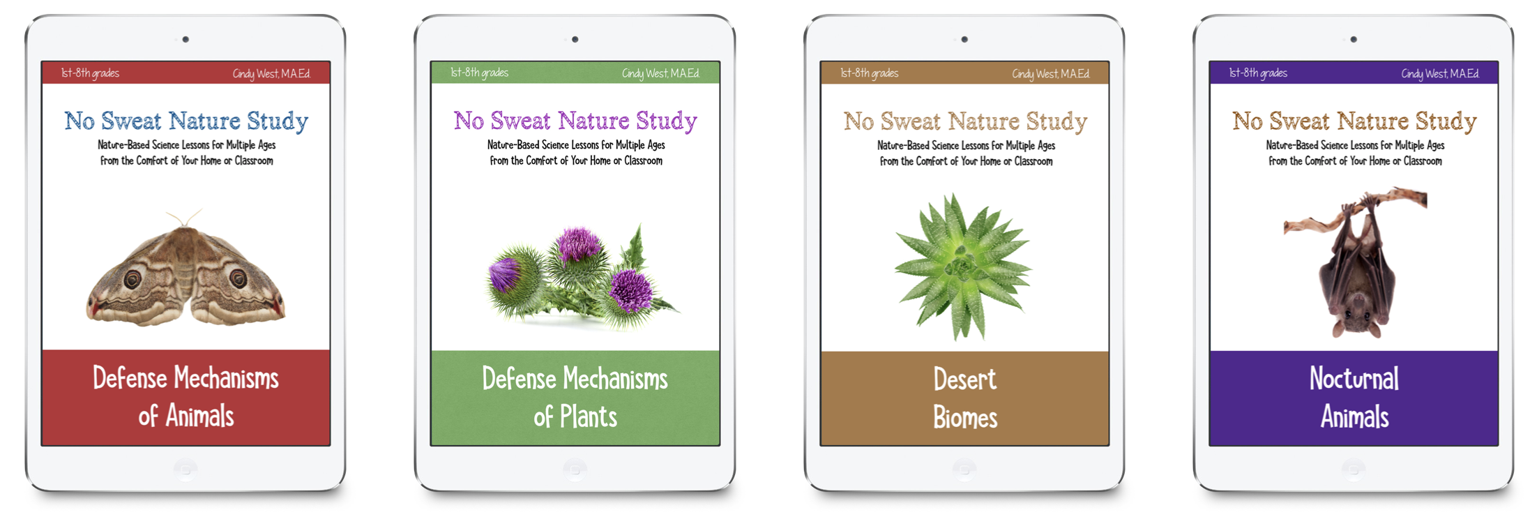 No Sweat Nature Studies - easy nature studies for homeschooling!