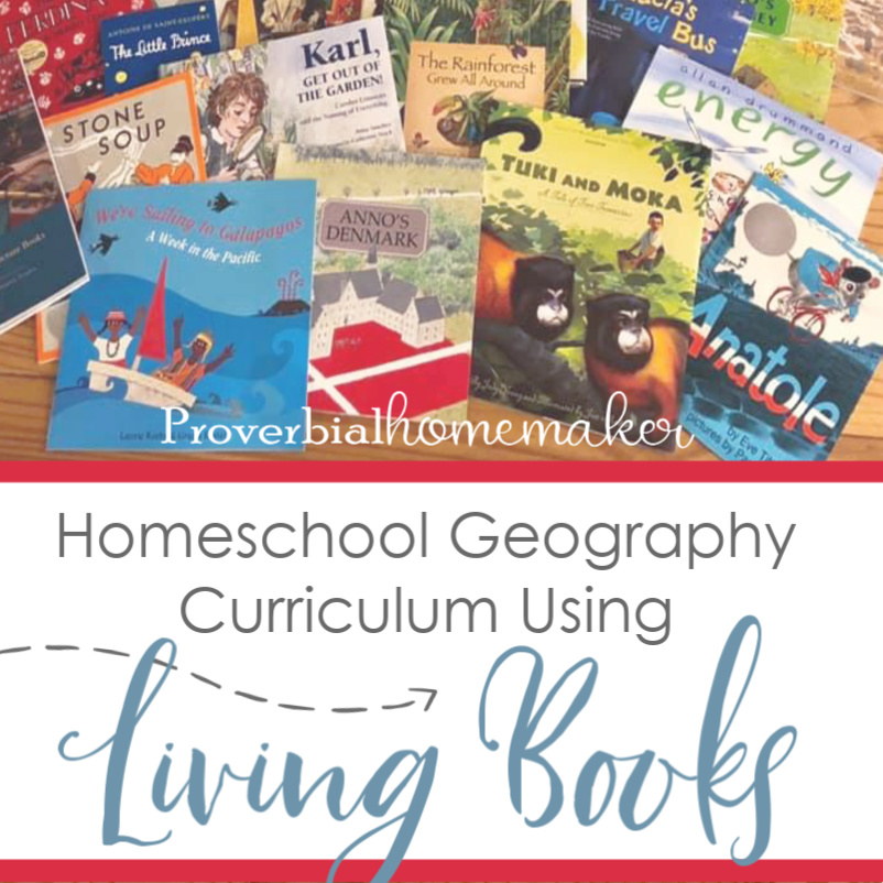Homeschool Geography Curriculum Using Living Books! With Around the World with Picture Books from Beautiful Feet Books!