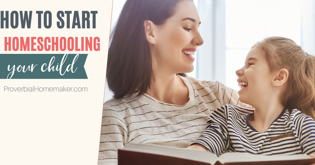 Want to know how to start homeschooling? Here's the quickstart guide you need! #homeschool #homeschooling
