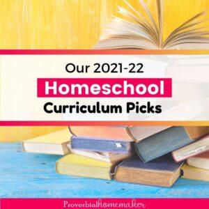 Top homeschool curriculum choices for 6 kids grades preschool through 8th grade!