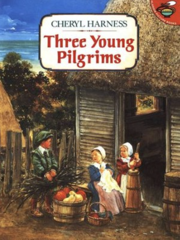 Three Young Pilgrims Thanksgiving story