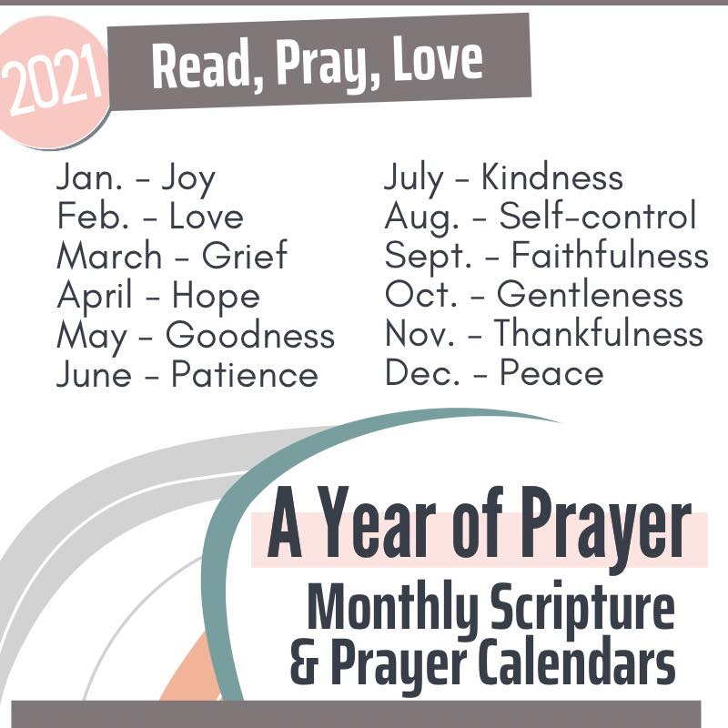 Join the Proverbial Homemaker community for the 2021 Read, Pray, Love Scripture and prayer challenge!