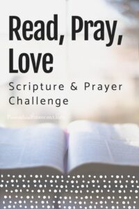 Be more intentional in prayer this year with the Read, Pray, Love Scripture & prayer challenge from Proverbial Homemaker!