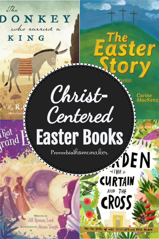 My favorite Christ-centered Easter books!
