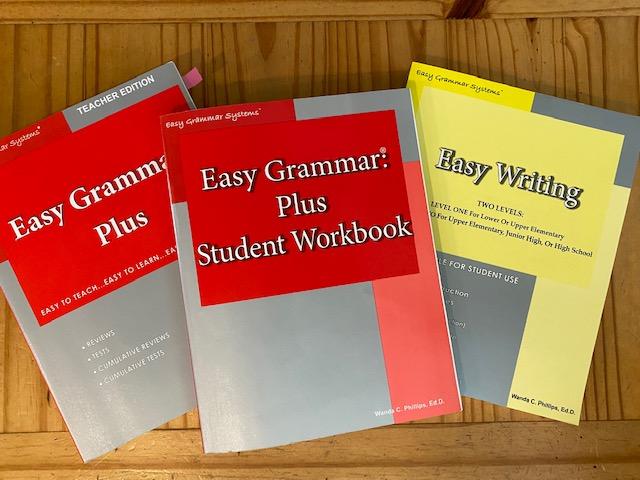 8th grade grammar curriculum - Easy Grammar Plus