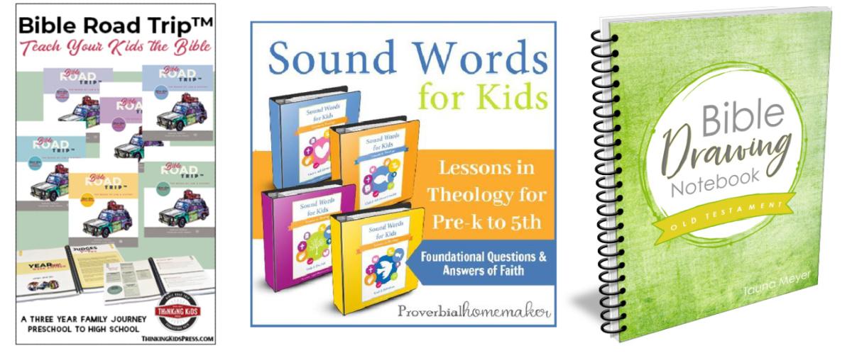 6th grade homeschool Bible curriculum