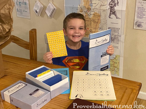 All About Spelling level 1 for teaching spelling - homeschool spelling curriculum
